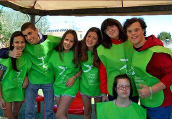 Hazte voluntario en Down Madrid, ayudando a personas con discapacidad