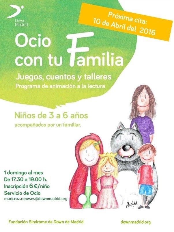 Programa de animación a la lectura para personas con Síndrome Down
