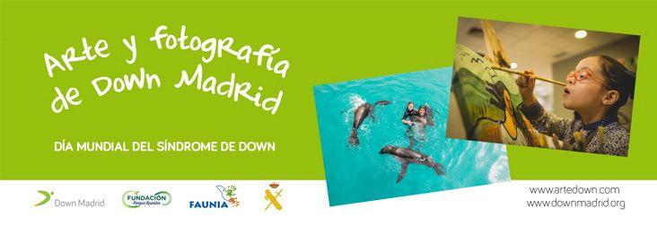 Arte y fotografía de Down Madrid en el día mundial del Síndrome de Down