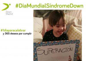 Día Mundial Síndrome de Down Madrid, Actividades programadas del 21 de marzo en Down Madrid