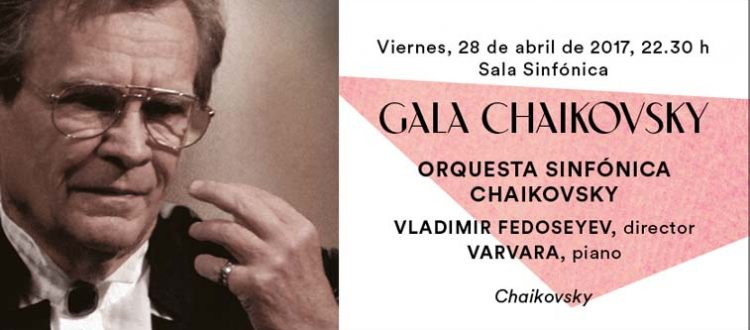 Cartel de la gala Chaikovsky a beneficio de Down Madrid