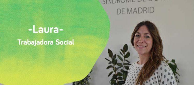 Fotode Laura, trabajadora social de Down Madrid