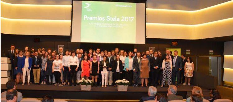 Foto de grupo de los Premios Stela a la inclusión laboral de Down Madrid