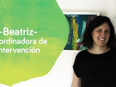 Beatriz Gomez coordinadora de intervención en Down Madrid