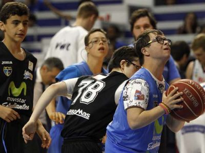 Equipo inclusivo de baloncesto de Down Madrid All Star
