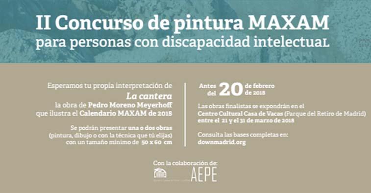 información del concurso de pintura MAXAM