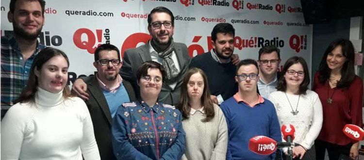 Equipo de alumnos de Gente Extraordinaria de Down Madrid
