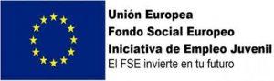 Logo del FSE Iniciativa de Empleo Juvenil