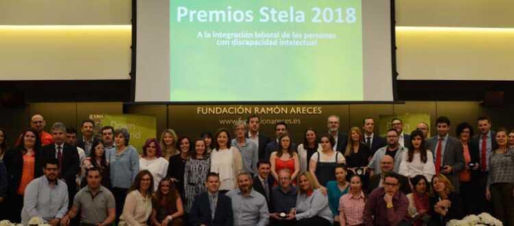 Foto de familia de los premios Stela 2018