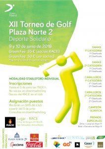 torneo golf down madrid, XII Torneo de Golf Plaza Norte 2