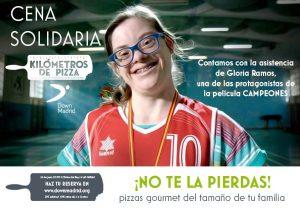 cena solidaria kilómetros de pizza, Kilómetros de Pizza organiza una cena solidaria