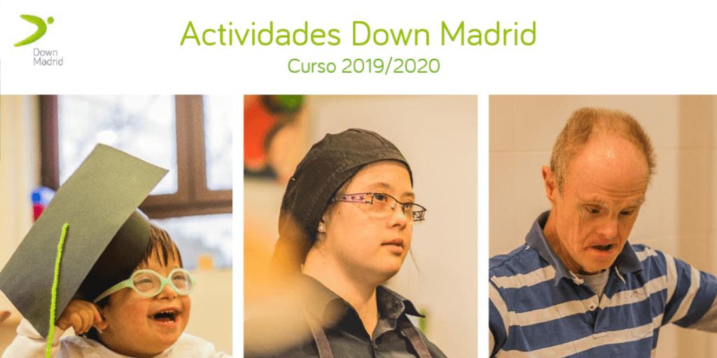 Catálogo actividades Down Madrid