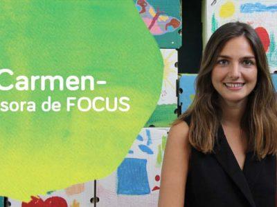 Carmen profesor a de FOCUS de Down Madrid
