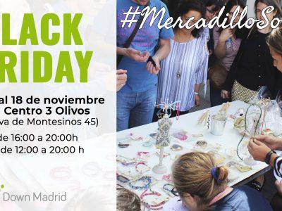 CArtel del Mercadillo Solidario de Down Madrid