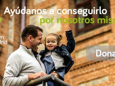 Campaña para donar a Down Madrid