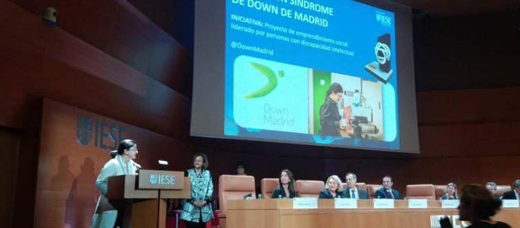 Entrega de premios corresponsables a Down Madrid