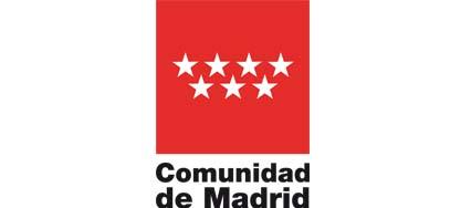 Logo comunidad de Madrid, colaborador de Down Madrid