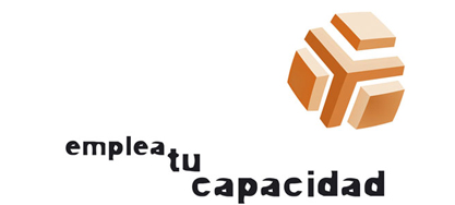 Logo de emplea tu capacidad colaborador de Down Madrid