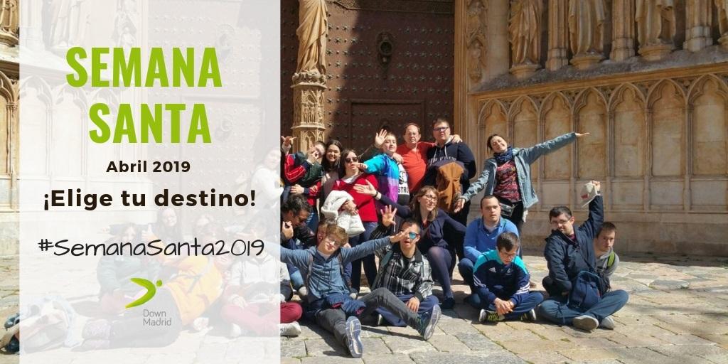 Viajes Semana Santa 2019 Down Madrid
