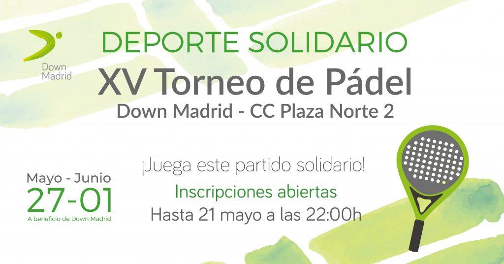 torneo de Pádel Down Madrid