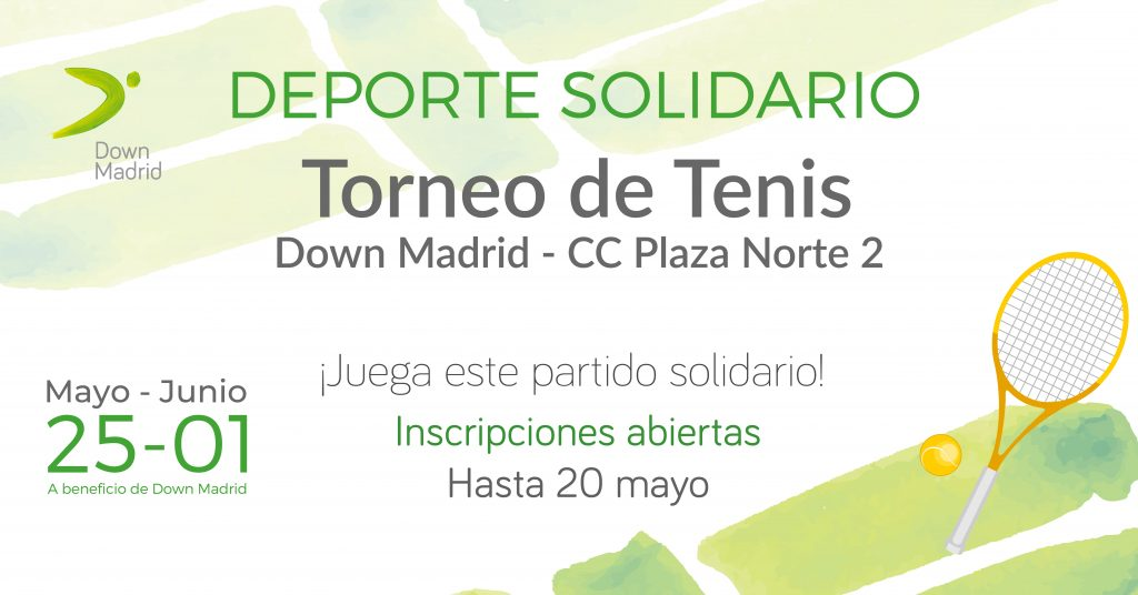 Torneo Tenis Down Madrid