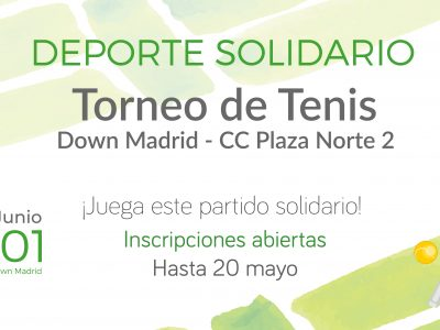 Torneo Tenis Down Madrid