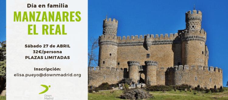Plan fin de semana para personas con discapacidad intelectual y familias en Manzanares El Real