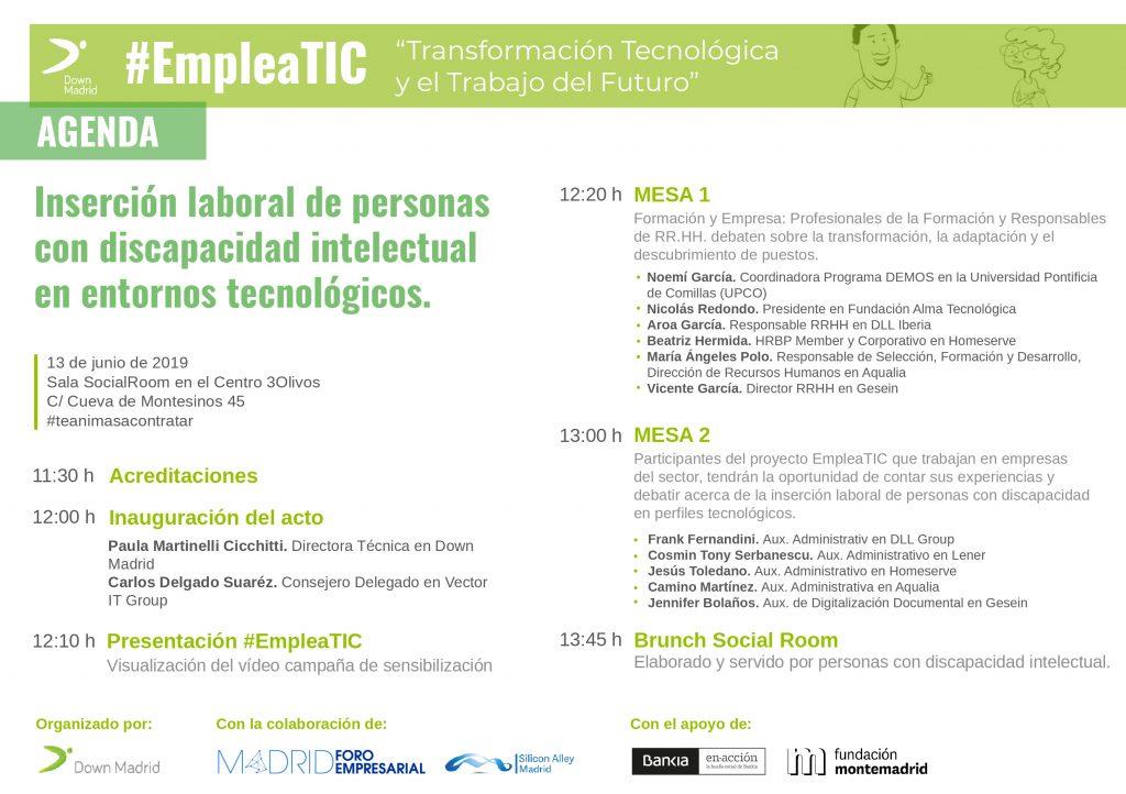 EmpleaTic, Foro EmpleaTIC para empresas del sector tecnológico -13 de junio-